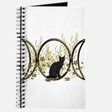 Triple Moon Art Series Cat Journal