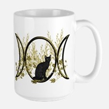Triple Moon Art Series Cat Mug