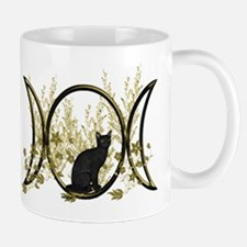 Triple Moon Art Series Cat Mug