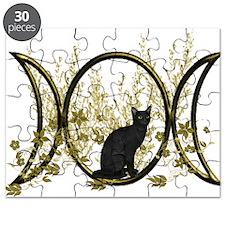 Triple Moon Art Series Cat Puzzle