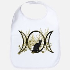 Triple Moon Art Series Cat Bib