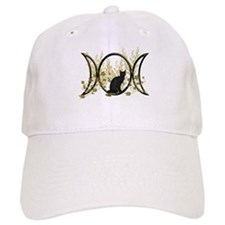 Triple Moon Art Series Cat Baseball Cap