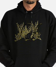 Triple Moon Art Series Cat Hoodie