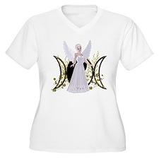 Triple Moon Art Series 3 Plus Size T-Shirt