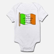 A Face Without Freckles Infant Bodysuit