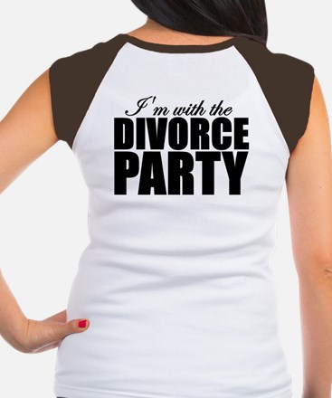 Black Rose Divorce Party Tee