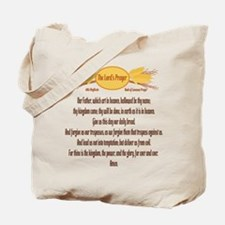 The Lords Prayer Wheat Tote Bag