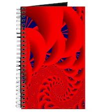 """""""Red Pillow"""" Fractal Art Journal"""