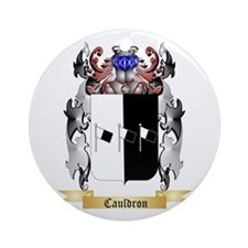 Cauldron Ornament (Round)