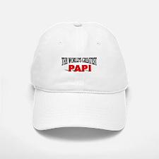 """The World's Greatest Papi"" Baseball Baseball Cap"