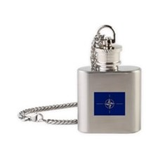 NATO Flag Flask Necklace
