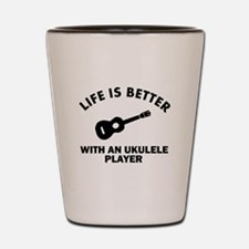 Life is better with a Ukulele Shot Glass