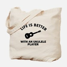 Life is better with a Ukulele Tote Bag
