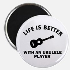 Life is better with a Ukulele Magnet