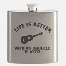 Life is better with a Ukulele Flask