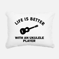 Life is better with a Ukulele Rectangular Canvas P