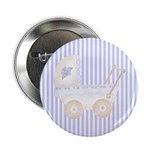 Baby Carriage(Blue) Button