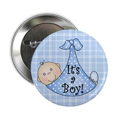 It's a Boy (White) 2.25