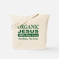 Organic Jesus Tote Bag