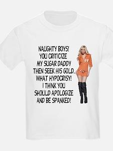 Naughty Boys! T-Shirt