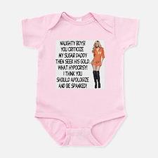 Naughty Boys! Infant Bodysuit