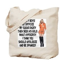 Naughty Boys! Tote Bag