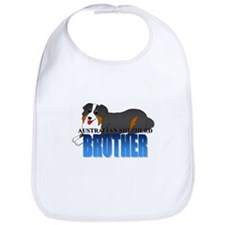 Australian Shepherd Brother Bib
