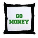 Go Money Throw Pillow