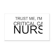 Trust Me, Im A Critical Care Nurse Rectangle Car M