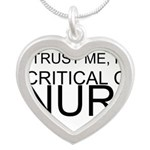 Trust Me, Im A Critical Care Nurse Necklaces