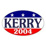 Kerry 2004 Oval Sticker