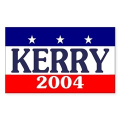 John Kerry 2004 Rectangle Decal
