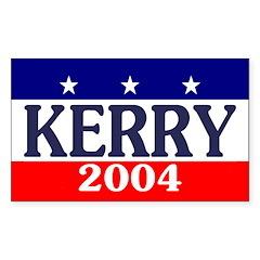 John Kerry 2004 Rectangle Decal