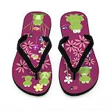 Butterfly flip flops Flip Flops