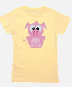 piggy.png Girl's Tee