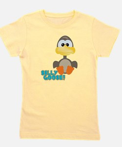 silly goose.png Girl's Tee