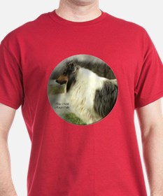 Blue Merle Collie Gifts T-Shirt