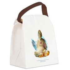 Buddha Canvas Lunch Bag