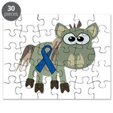 blue ribbon donkey copy.png Puzzle