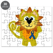 blue ribbon lion copy.png Puzzle