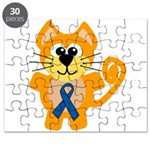 blue ribbon orange kitty cat copy.png Puzzle