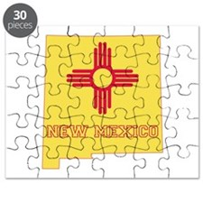 New Mexico Flag Puzzle