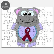 burg ribbon hippo.png Puzzle
