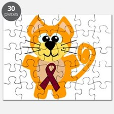 burg ribbon orange kitty cat.png Puzzle
