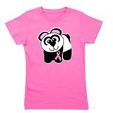 Breast cancer ribbon Girls Tees