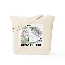 RunwayFore Tote Bag