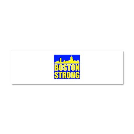 Boston Strong Car Magnet 10 x 3