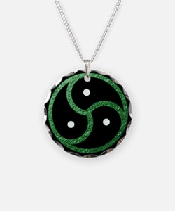 GREEN - BDSM Emblem - Symbol Necklace