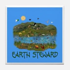 Earth Steward Tile Coaster