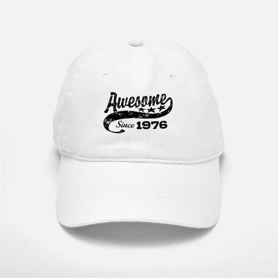 Awesome Since 1976 Baseball Baseball Cap